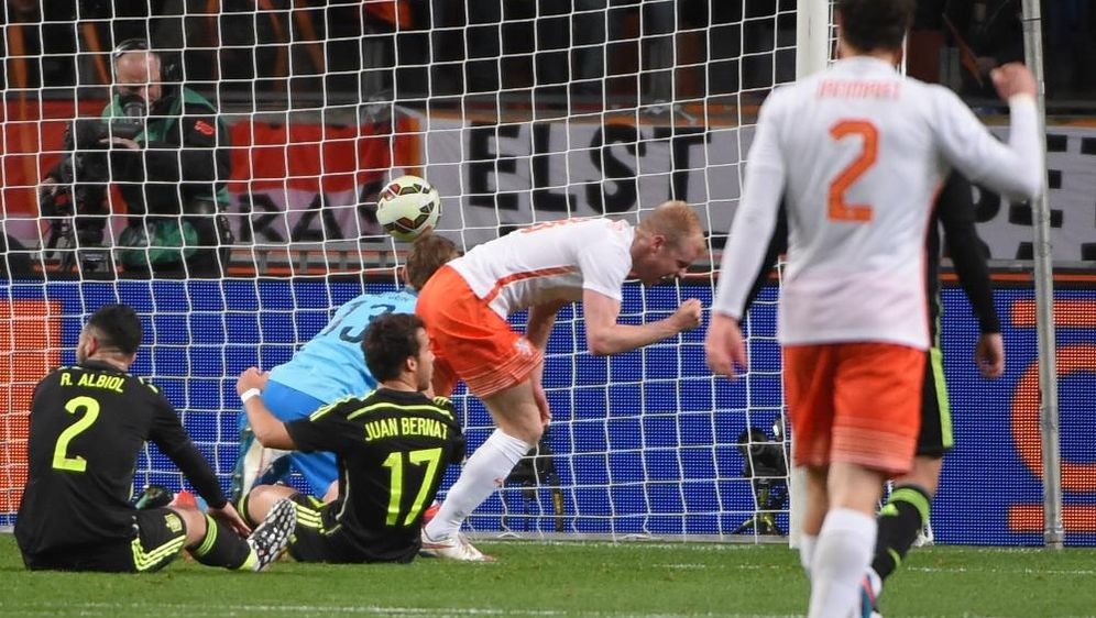Spanien Gegen Niederlande Weltmeisterschaft