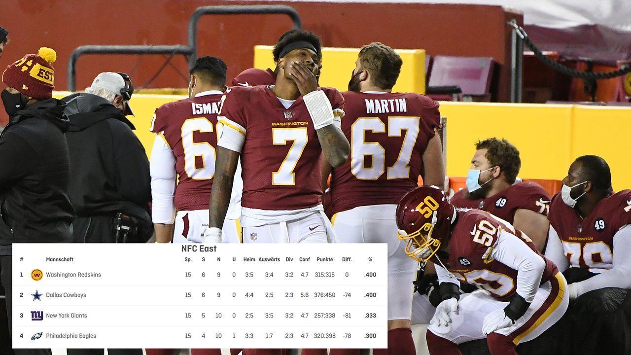 Kampf um den Division-Titel in der NFC East - Bildquelle: 2020 Getty Images