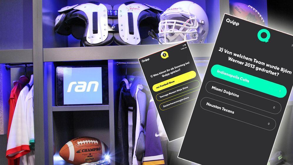 """Das neue """"Quipp ranFootball"""" bietet NFL-Experten jeden verdammten Sonntag di... - Bildquelle: Quipp"""