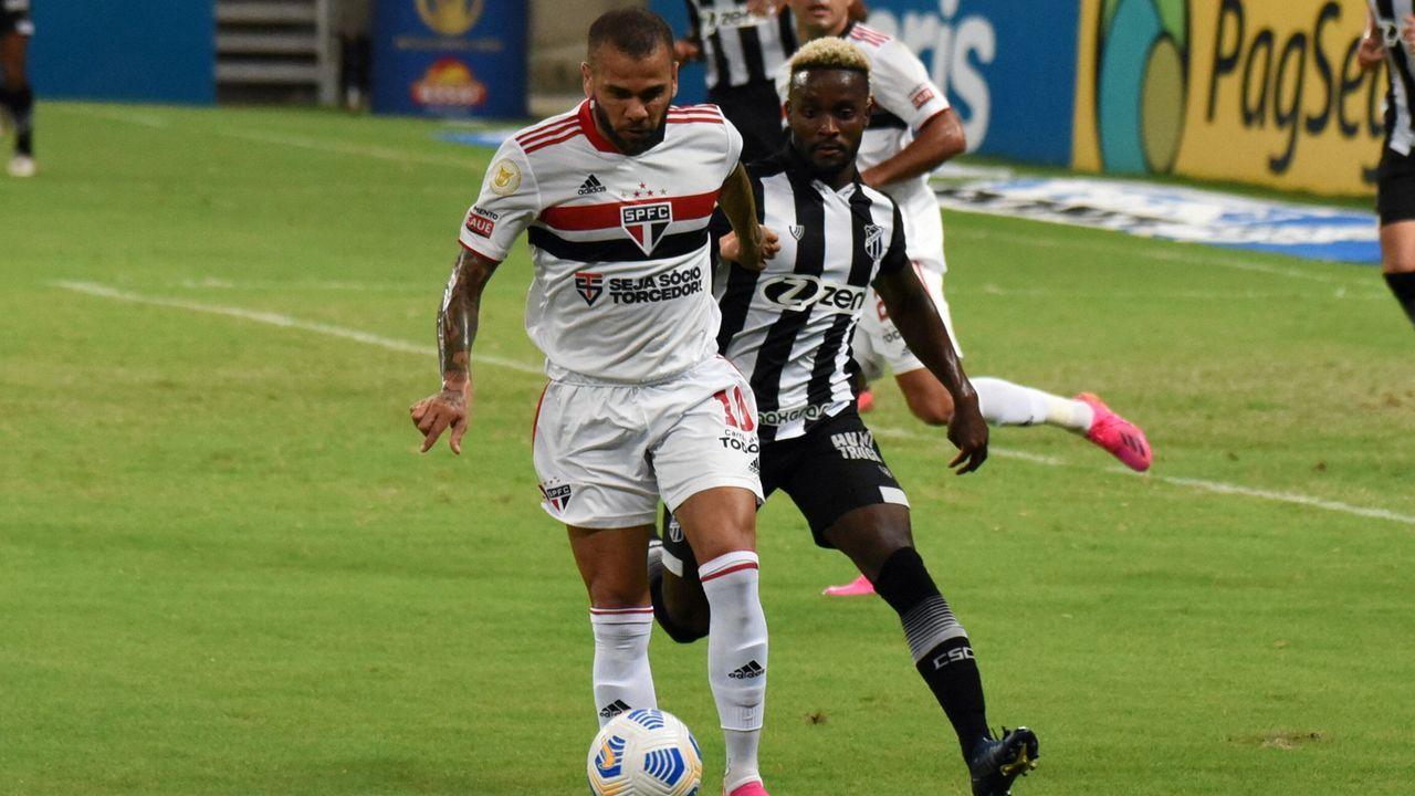 Dani Alves (FC Sao Paulo) - Bildquelle: imago images/Sports Press Photo