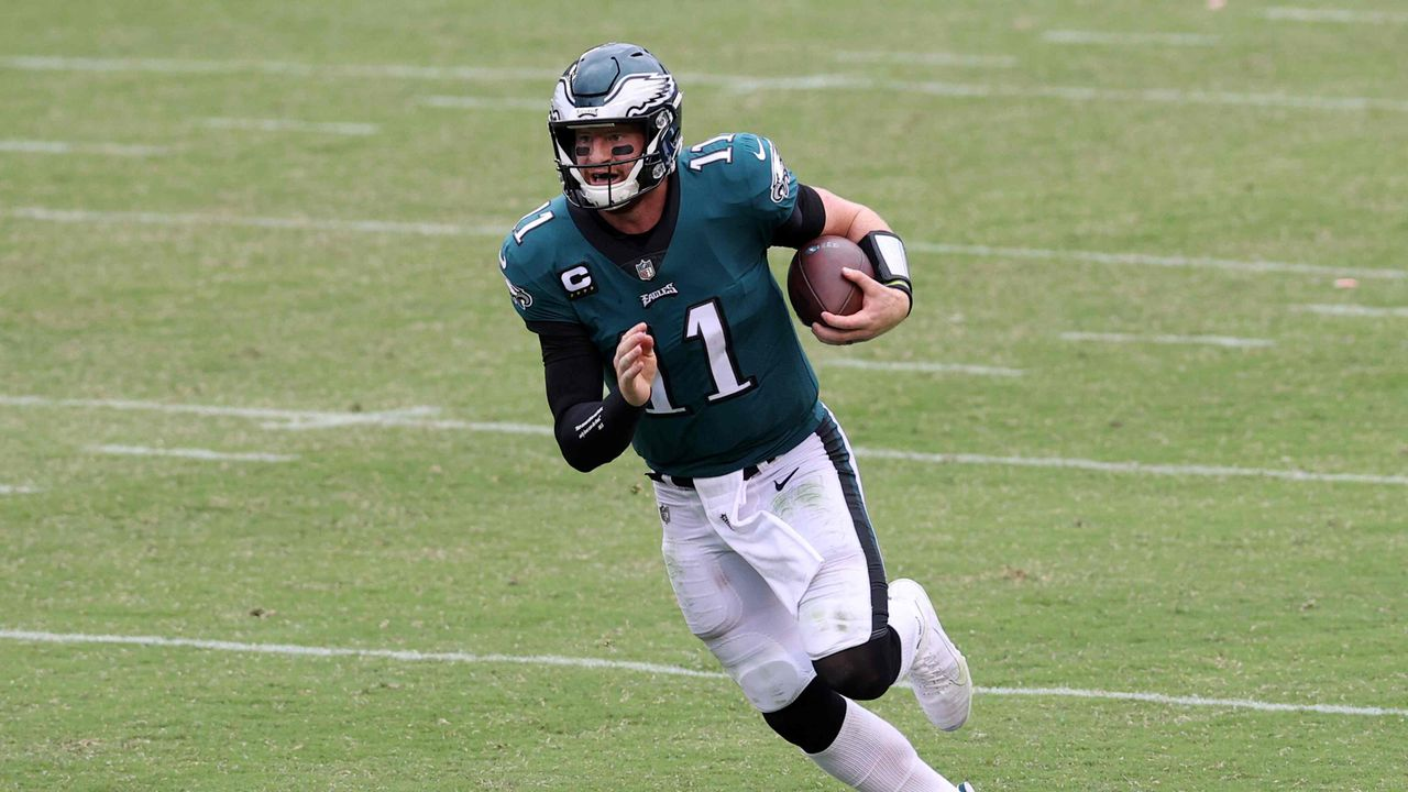 Platz 2: Carson Wentz (Philadelphia Eagles)  - Bildquelle: getty