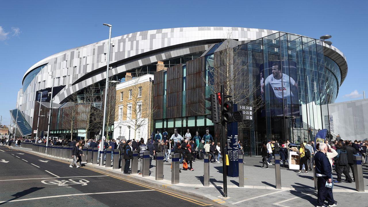 Das neue Stadion der Tottenham Hotspur - Bildquelle: 2019 Getty Images