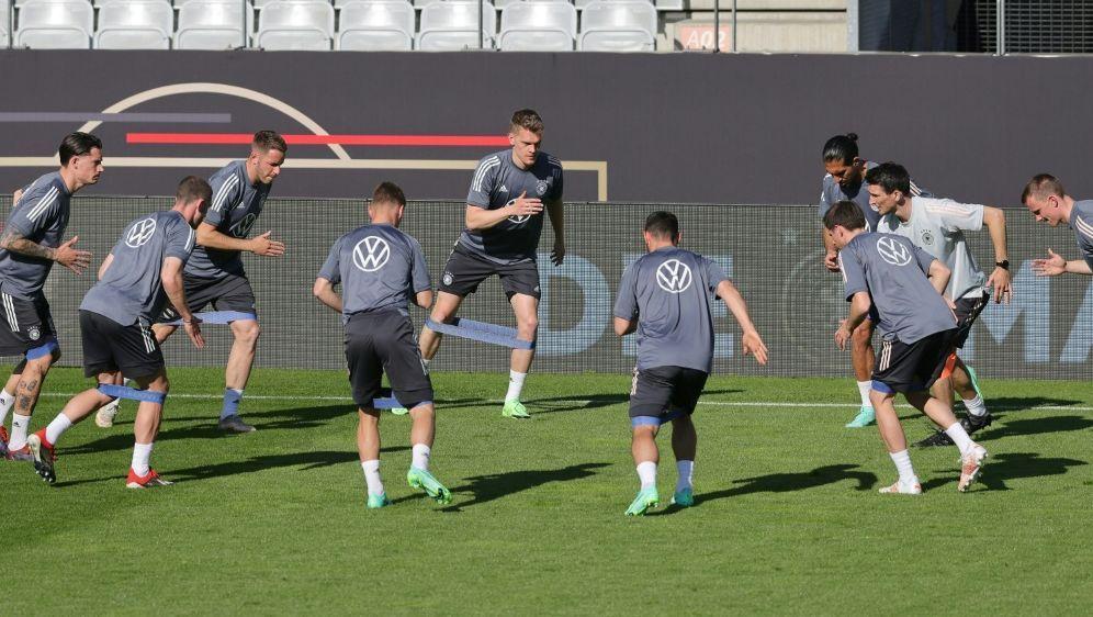 Das DFB-Team trainiert in Herzogenaurach - Bildquelle: FIROFIROSID