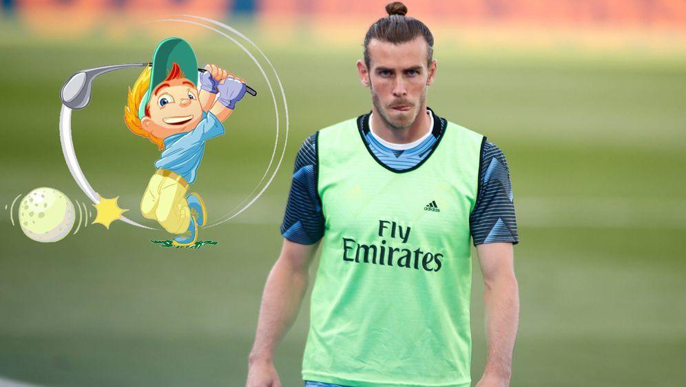 Real-Star Gareth Bale gilt als passionierter Golf-Spieler. - Bildquelle: imago images/ZUMA Wire