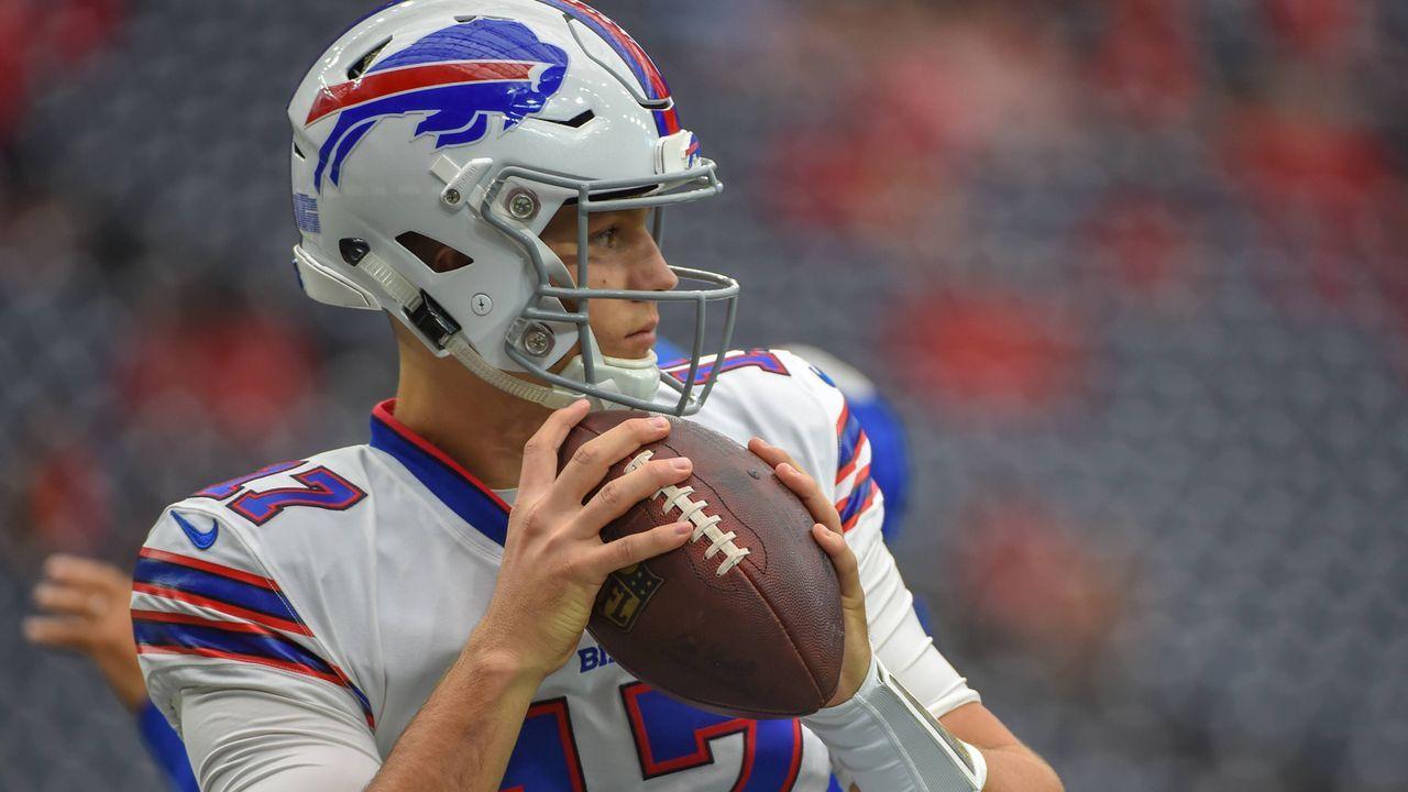 Pick 7: Josh Allen (Quarterback, Buffalo Bills) - Bildquelle: imago/Icon SMI