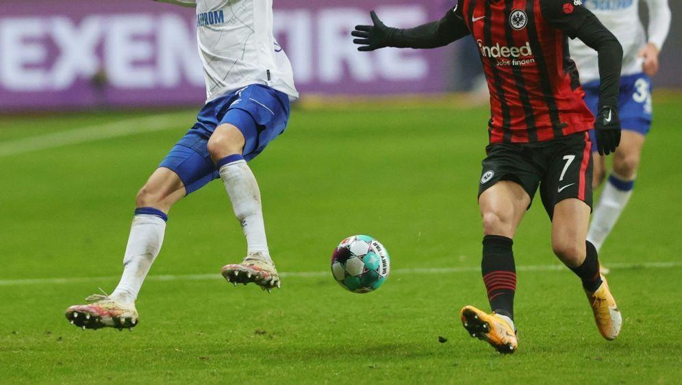 Ajdin Hrustic (r) schoß beide Tore für Frankfurt - Bildquelle: FIROFIROSID
