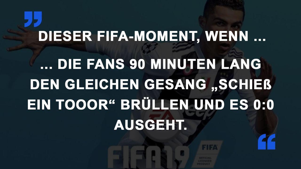 FIFA Momente Fan-Gesang