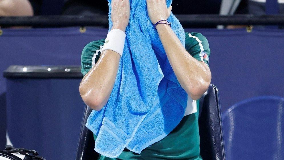 Vorjahressieger Medwedew schied im Viertelfinale aus - Bildquelle: AFPGETTYSIDMICHAEL REAVES