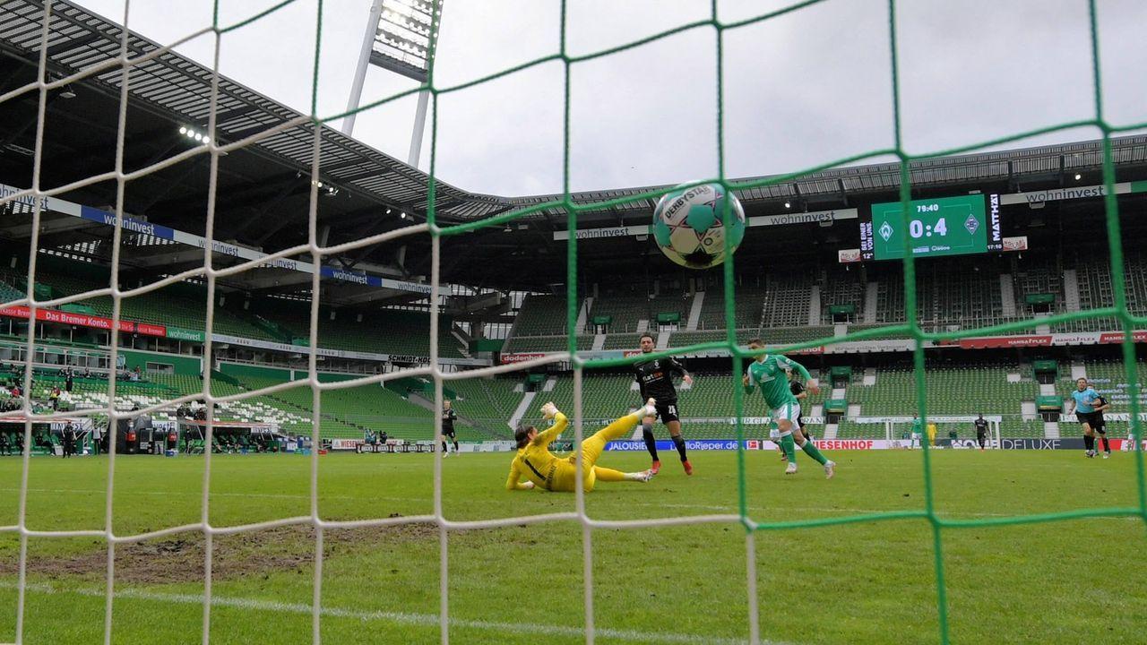 81. Minute: Bremen nur noch mit Ergebniskorrektur - Bildquelle: imago images/Nordphoto