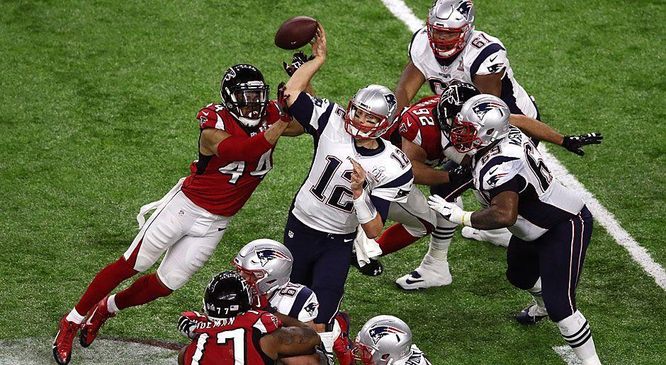 10. neuer Rekord: Meiste Offensive Plays eines Teams in einem Super Bowl - Bildquelle: 2017 Getty Images