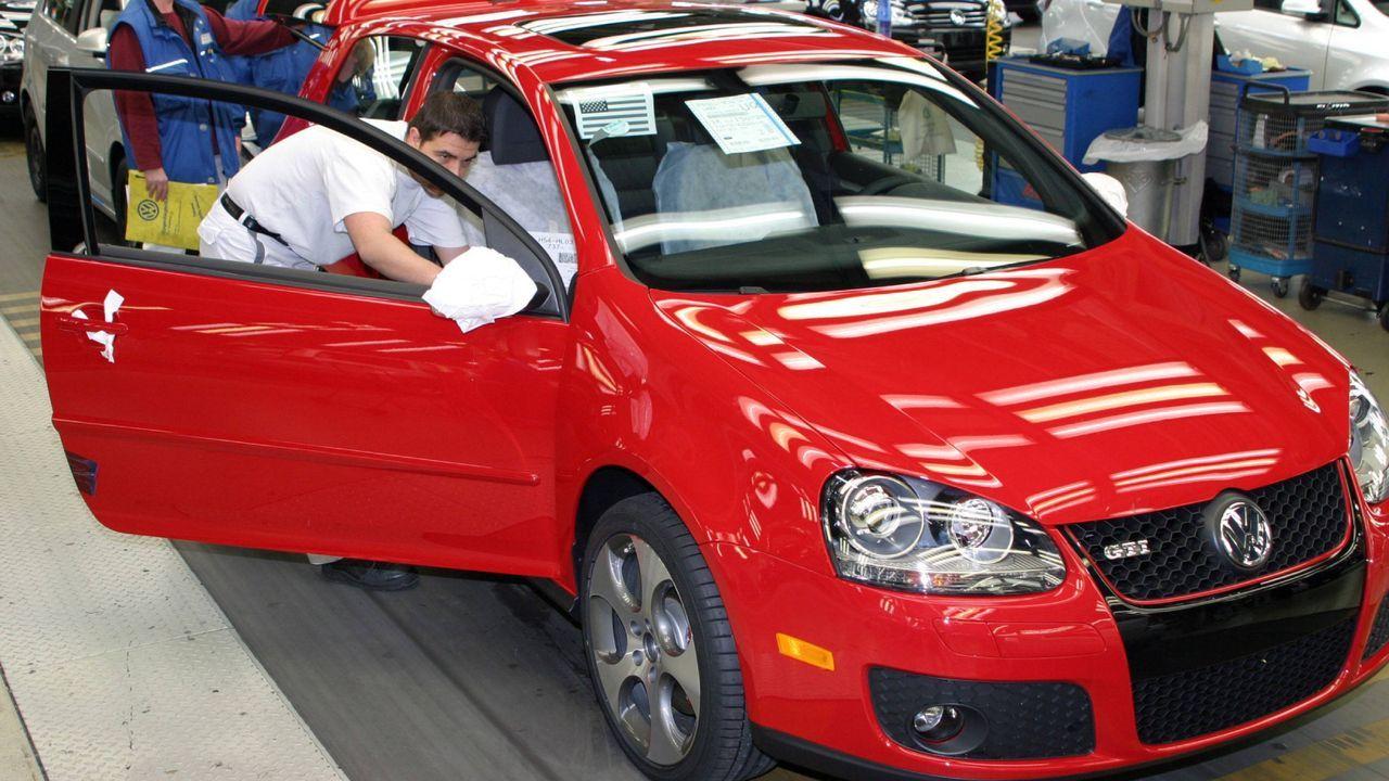 Fünfte Generation des VW Golf kommt auf den Markt - Bildquelle: Imago