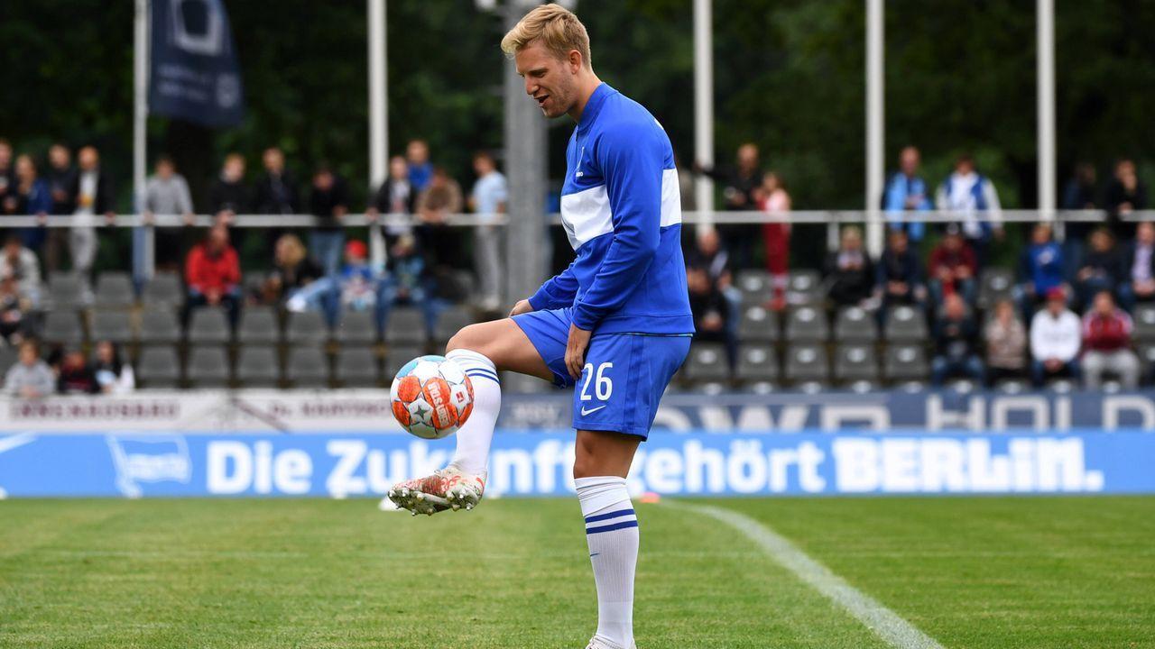Mittelfeld/Sturm: Arne Maier - Bildquelle: imago images/Matthias Koch