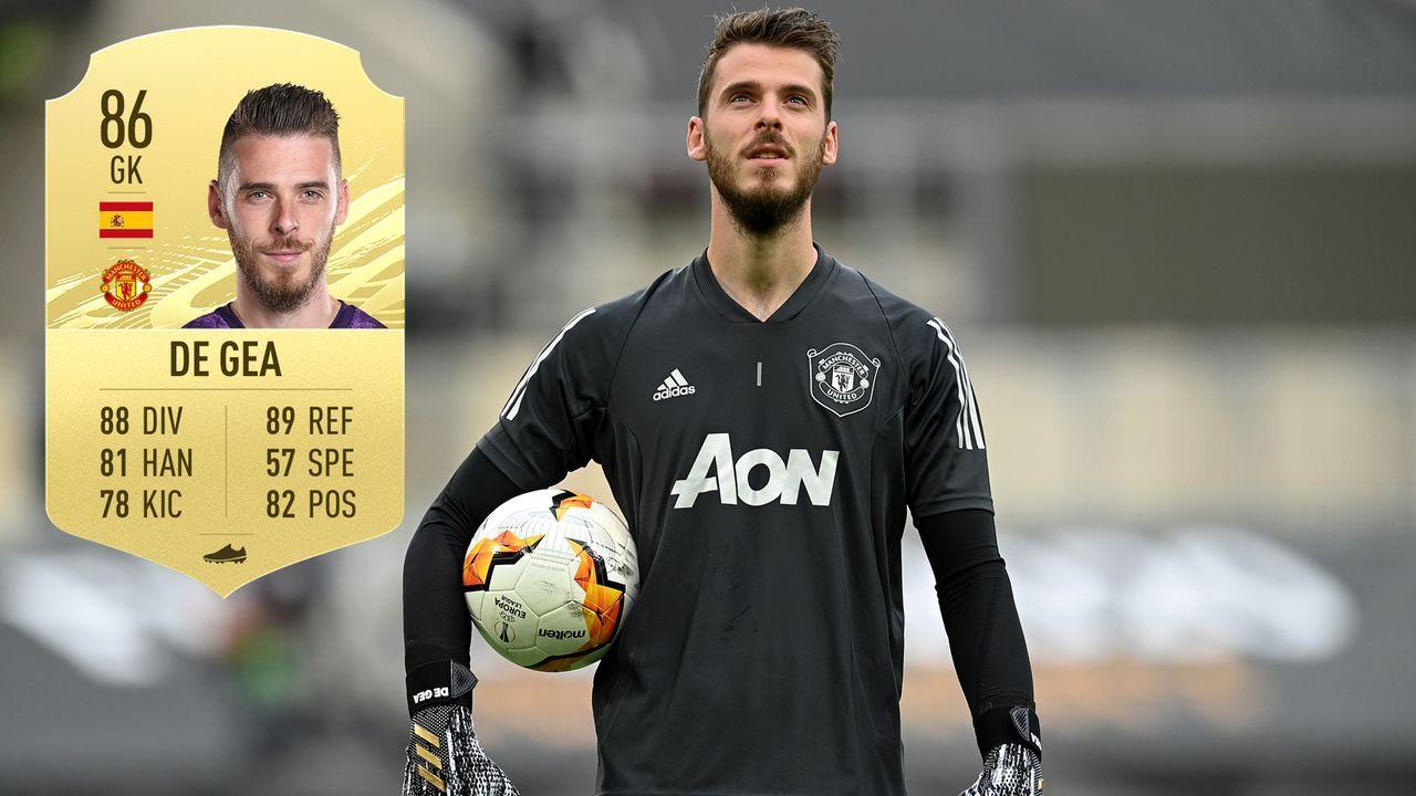 David De Gea (Manchester United/Spanien) - Bildquelle: 2020 Pool/EA Sports