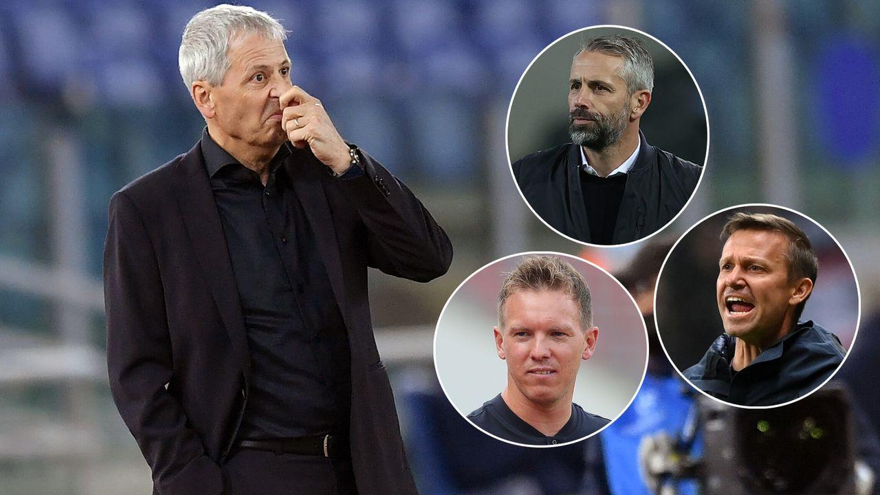 Das sind die angeblichen Nachfolge-Kandidaten von Lucien Favre beim BVB - Bildquelle: imago images/Insidefoto