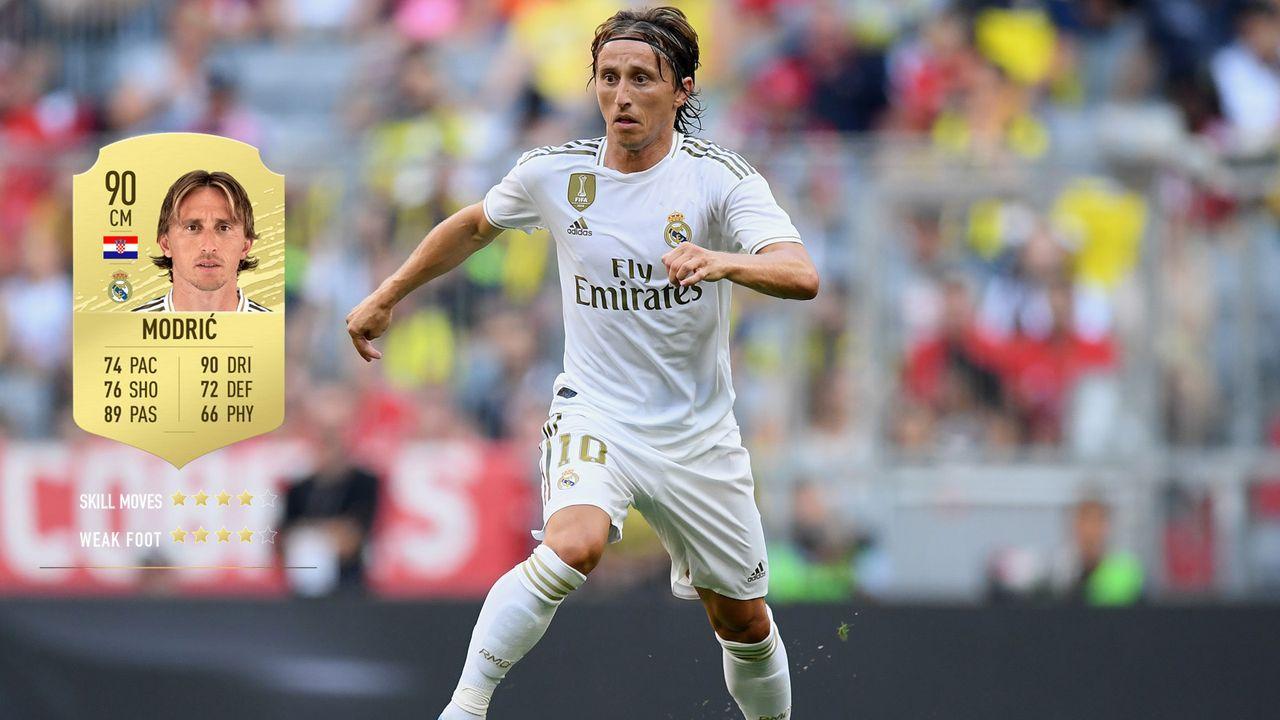 7. Luka Modric (Real Madrid)  - Bildquelle: 2019 Getty Images