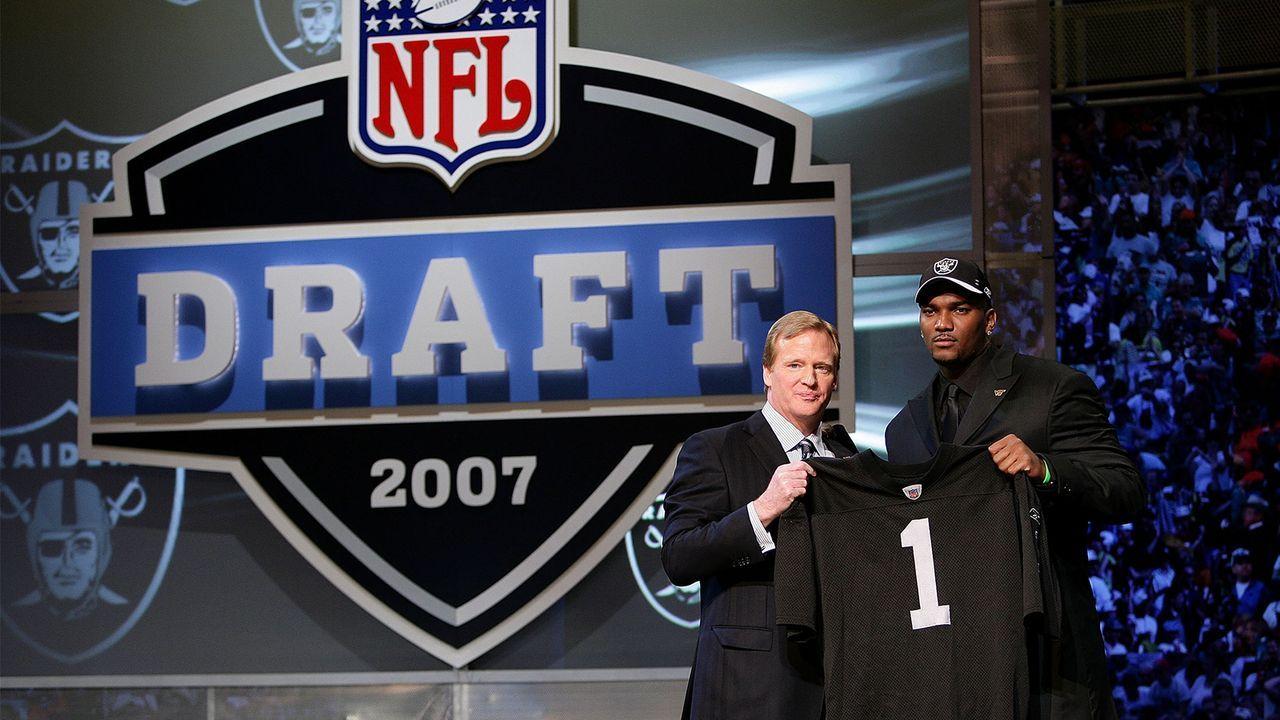 NFL Draft 2007: JaMarcus Russell - Bildquelle: 2009 Getty Images