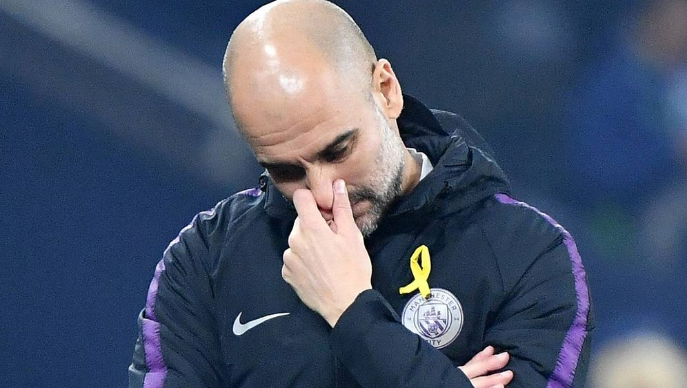 Pep Guardiola trauert um seine Mutter. - Bildquelle: imago/Jan Huebner