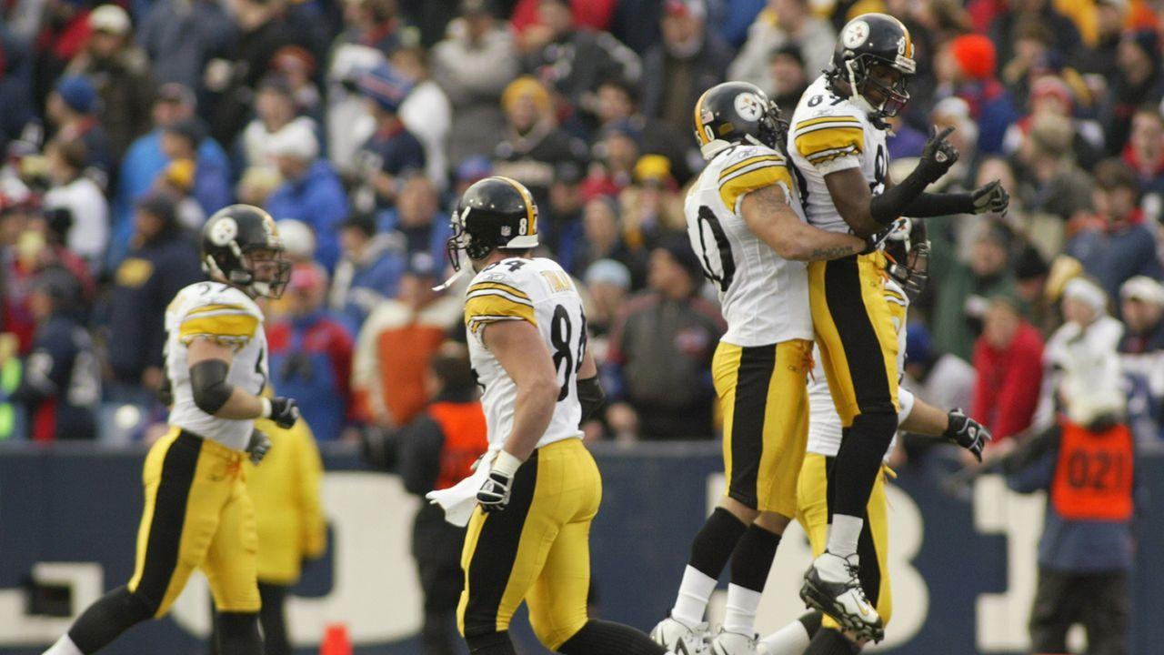 Pittsburgh Steelers 14 Siege (2004) - Bildquelle: 2005 Getty Images