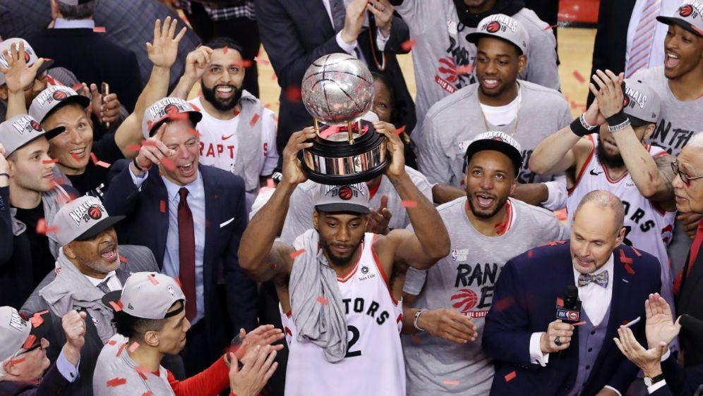 Im NBA-Finale: Kawhi Leonard und Toronto - Bildquelle: AFPGETTY SID