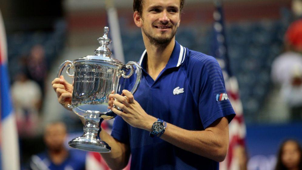 US-Open-Champion Medwedew für Saisonfinale qualifiziert - Bildquelle: AFPSIDKena Betancur