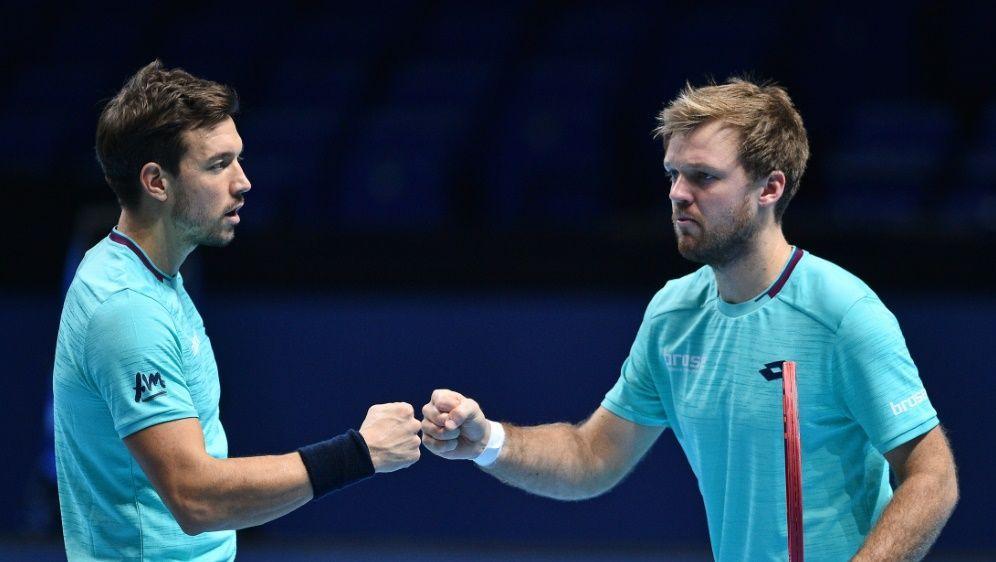 Krawietz und Mies verpassten in London das Halbfinale - Bildquelle: AFPSIDGLYN KIRK
