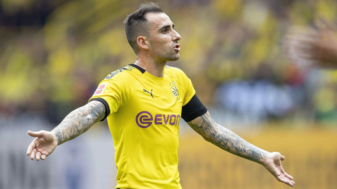 Paco Alcacer (Borussia Dortmund) - Bildquelle: imago images / Sven Simon