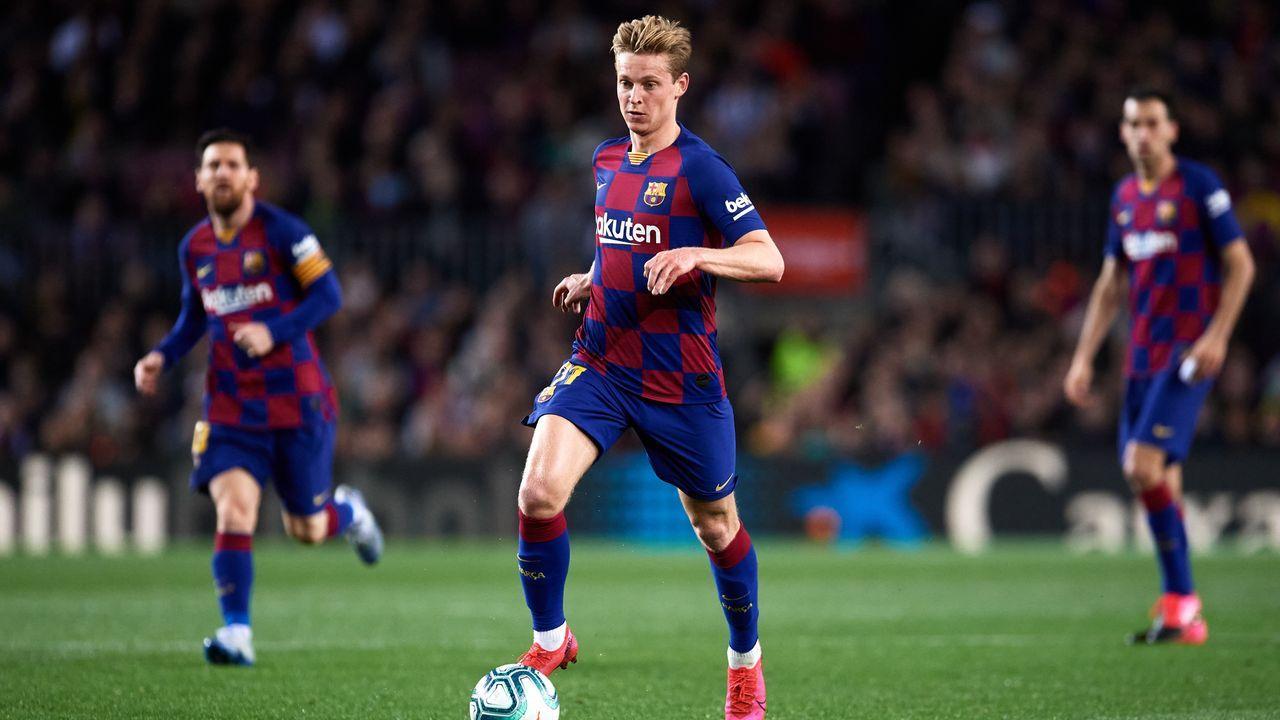 Frenkie de Jong (FC Barcelona) - Bildquelle: Getty Images