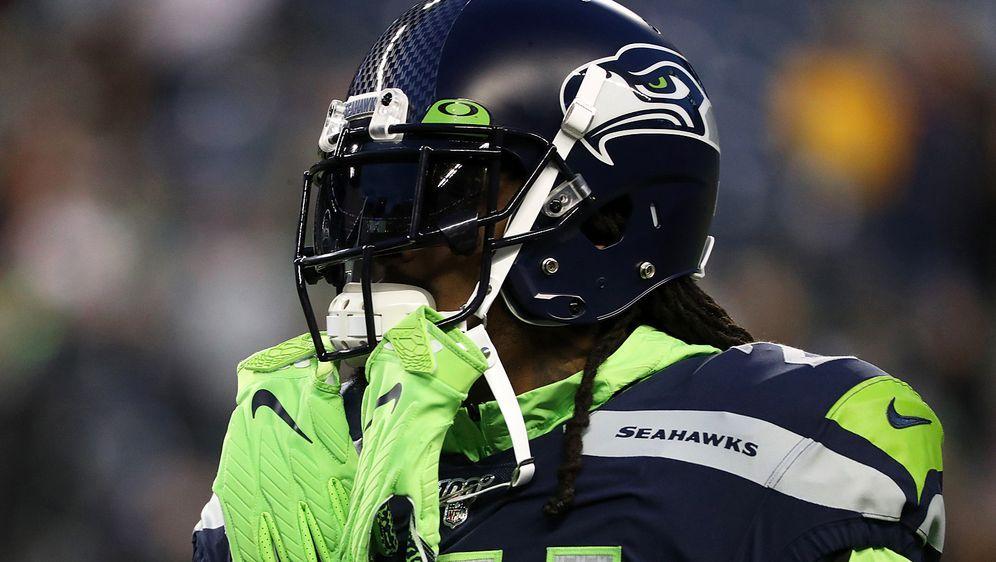 Marshawn Lynch kehrte zur Woche 17 zu den Seattle Seahawks zurück. - Bildquelle: getty