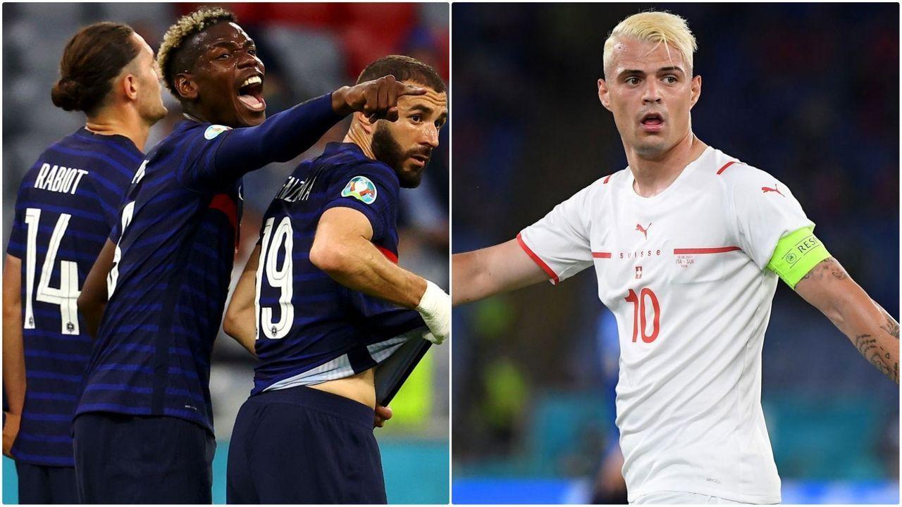 Frankreich vs. Schweiz - Bildquelle: Getty Images/Getty Images