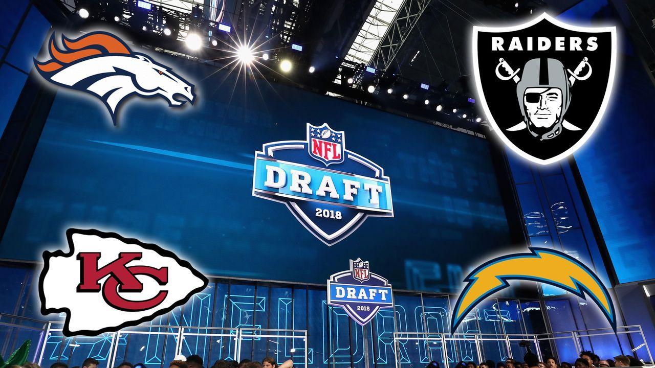 Die Draft Needs der vier Teams aus der AFC West - Bildquelle: Getty