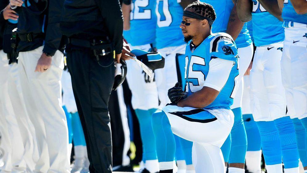 Panthers-Safety Eric Reid wünscht sich ein baldiges NFL-Comeback von Colin K... - Bildquelle: getty