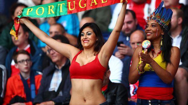 Fans Portugal - Bildquelle: 2016 Getty Images