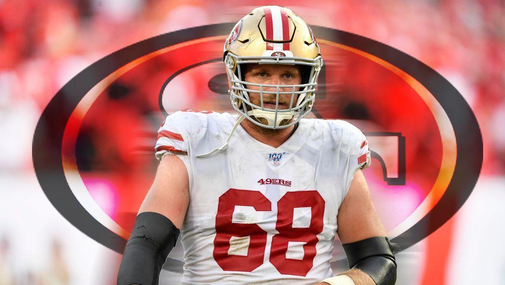 Steht mit den 49ers vor seiner ersten Super Bowl-Teilnahme: Guard Mike Perso... - Bildquelle: imago images / Icon SMI