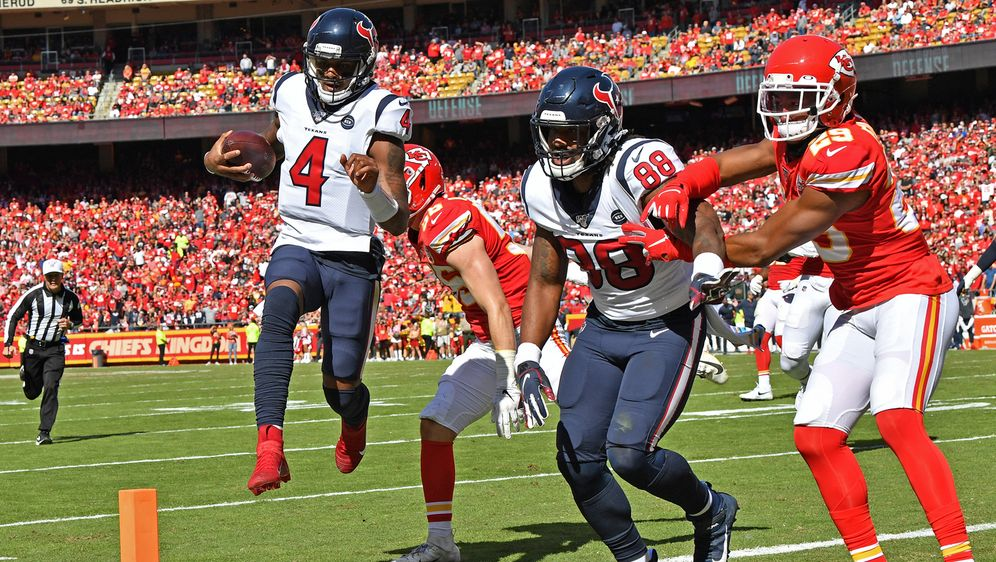 Die Texans schlagen die Chiefs. - Bildquelle: Getty Images
