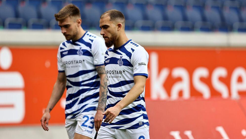 Die Spieler des MSV Duisburg müssen in Quarantäne. - Bildquelle: getty