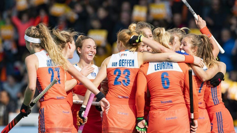 Die niederländischen Hockey-Frauen stehen im EM-Finale - Bildquelle: AFPSIDKOEN SUYK