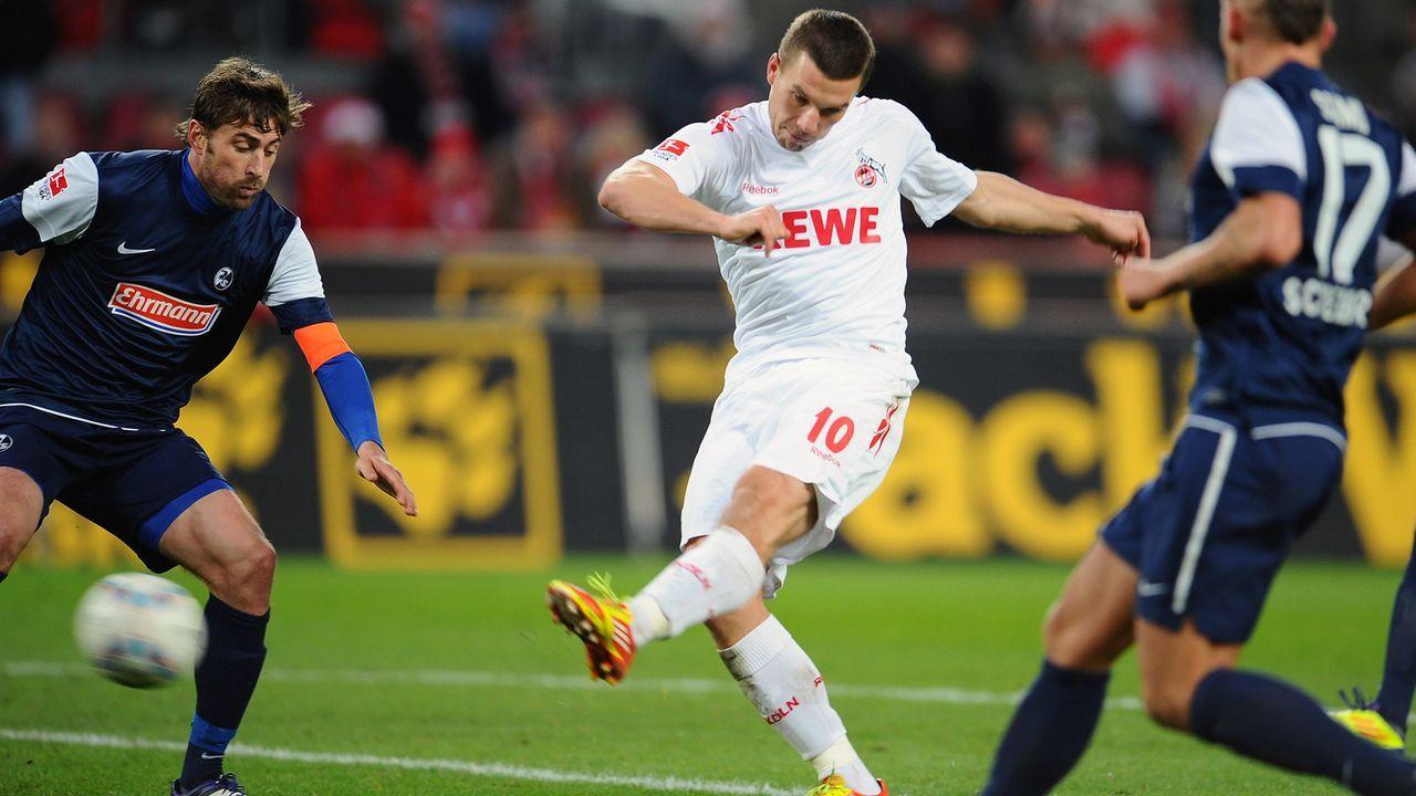Platz 2 - Lukas Podolski - Bildquelle: 2011 Getty Images