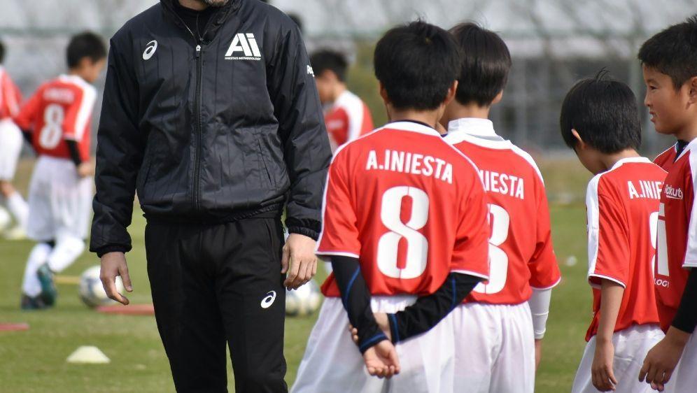 Neuer Trainer bei Vissel Kobe: Andres Iniesta - Bildquelle: JIJI PRESSJIJI PRESSSIDJIJI PRESS