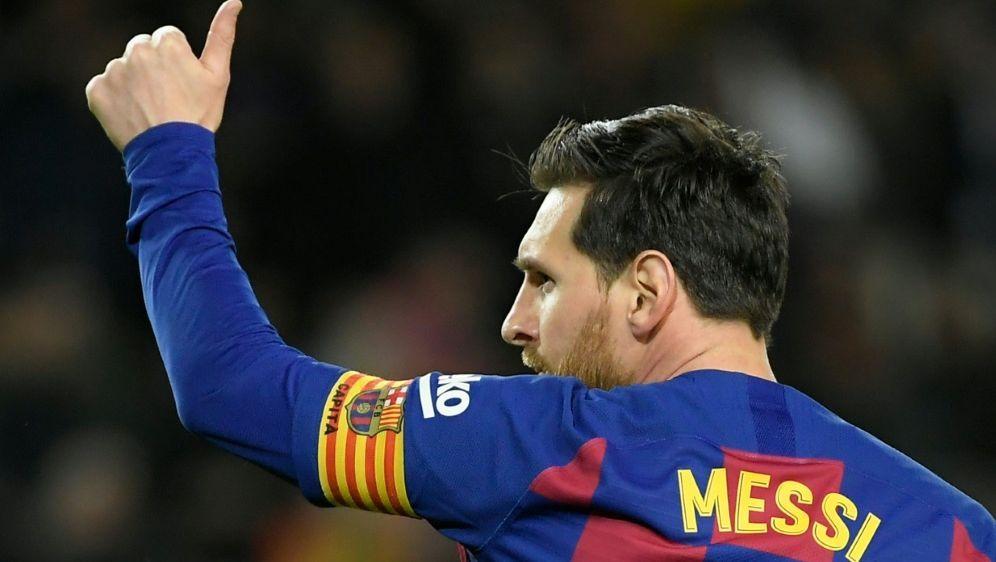 Lionel Messi bleibt Kapitän des FC Barcelona - Bildquelle: AFPSIDLLUIS GENE