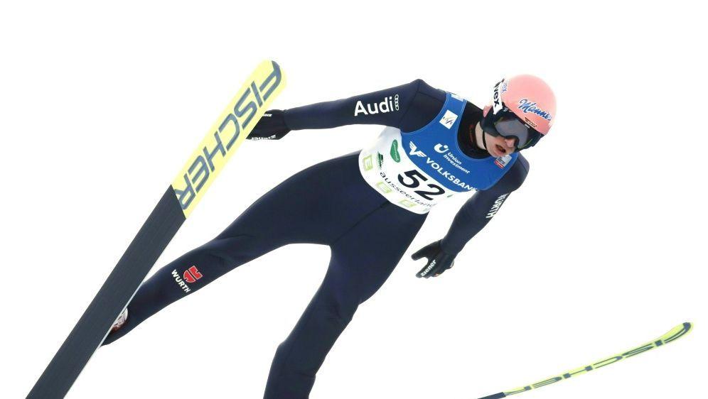 Geiger und Co. starten mit zweiten Platz in WM-Winter - Bildquelle: AFPSIDERWIN SCHERIAU