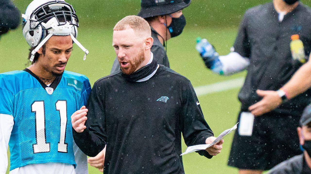 Joe Brady (Offensive Coordinator der Carolina Panthers) - Bildquelle: Getty Images