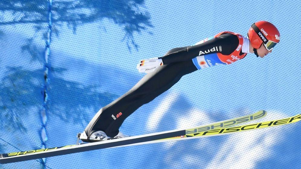 Bester Deutscher nach dem Springen: Terence Weber - Bildquelle: AFPSIDJOE KLAMAR