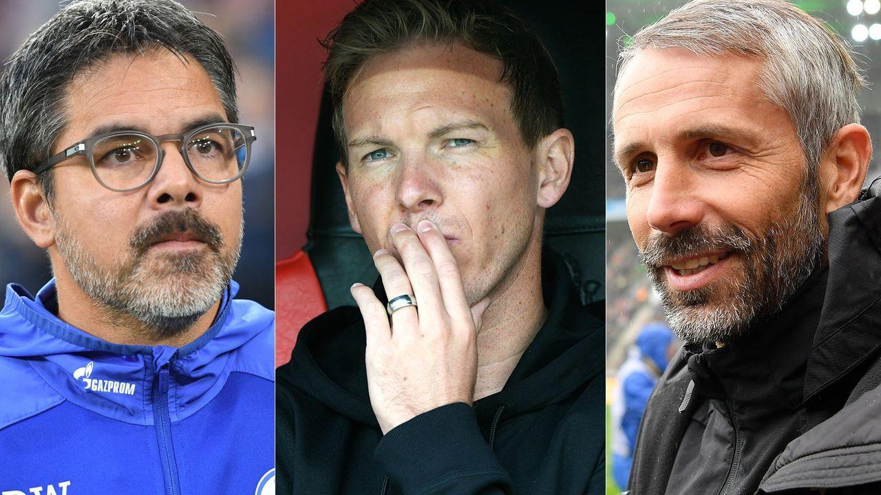Die sieben neuen Trainer in der Bundesliga - ran.de zieht eine erste Zwischenbilanz - Bildquelle: imago/getty images