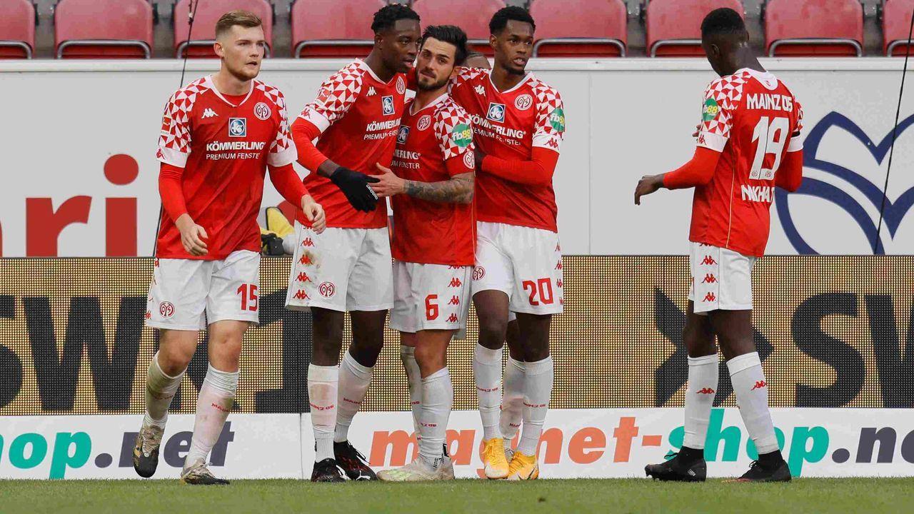 Platz 17: Mainz 05 - Durchschnittlicher Tabellenplatz der Gegner: 13,2  - Bildquelle: getty