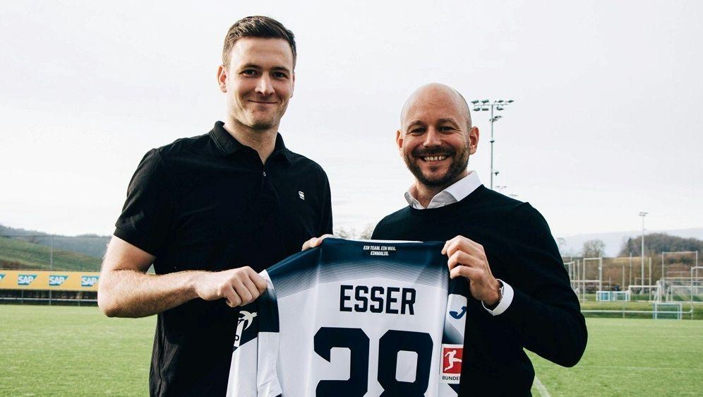 Michael Esser verstärkt die TSG 1899 Hoffenheim - Bildquelle: TSG 1899 HOFFENHEIMTSG 1899 HOFFENHEIMTSG 1899 HOFFENHEIM