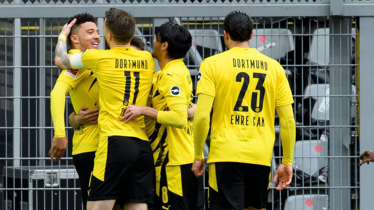 Krönt Dortmund seine Aufholjagd? - Bildquelle: Alex Gottschalk/POOL