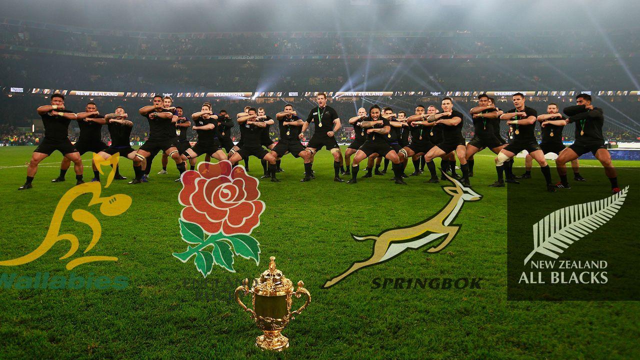Rugby-WM: Das sind die bisherigen Sieger - Bildquelle: 2015 Getty Images