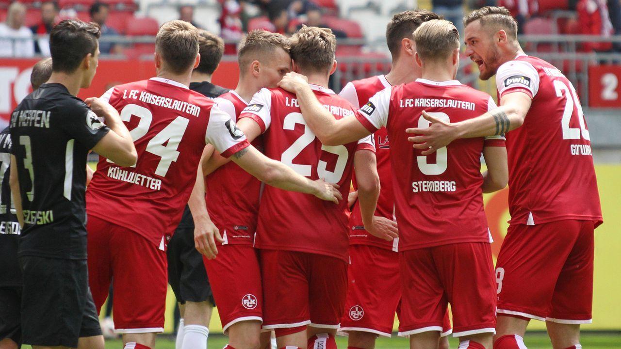 1. FC Kaiserslautern - Bildquelle: imago images / Jan Huebner