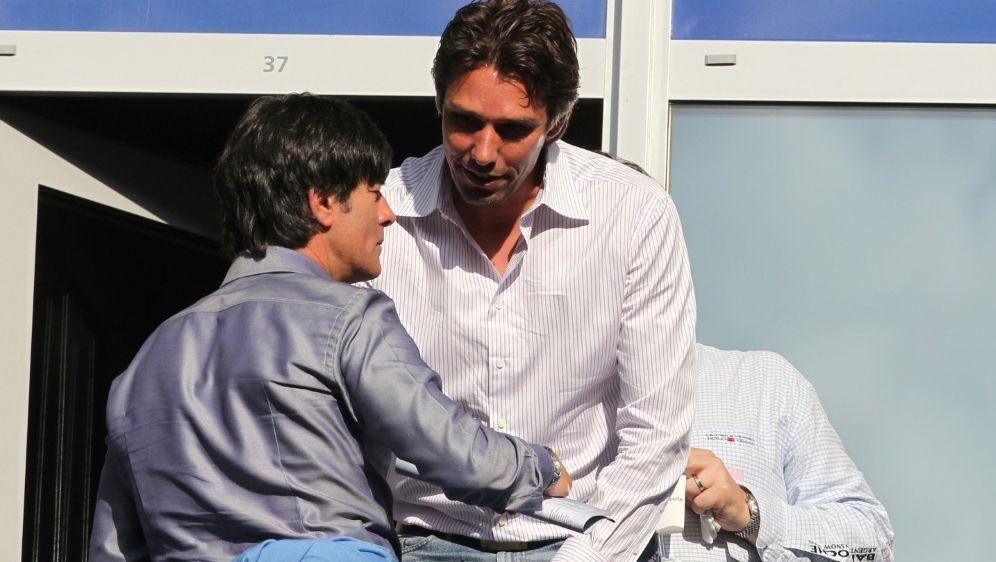 Michael Stich (r.) will das Tennis-Jahr abhaken - Bildquelle: FIROFIROSID