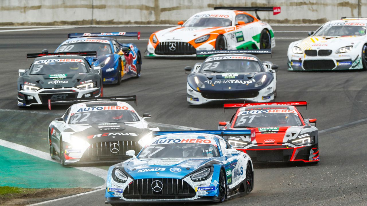Farbenfrohe DTM 2021: Die Designs der GT3-Autos - Bildquelle: Hoch Zwei